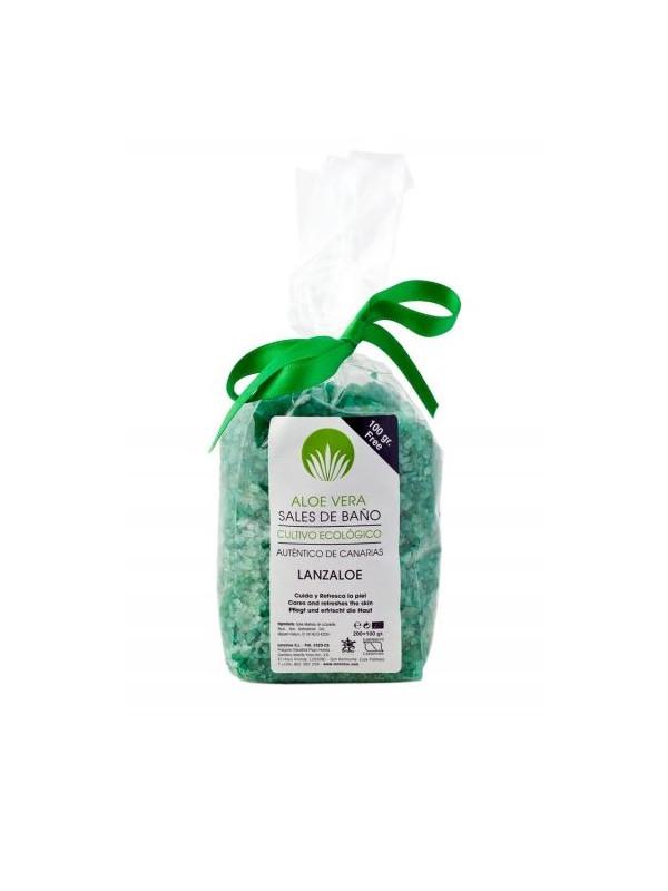 Lanzaloe Aloe Vera bath salt 300g