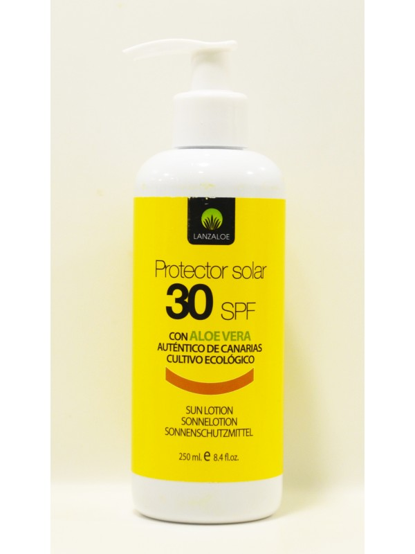Lanzaloe Sunscreen FPS 15 and FPS 30 250ml