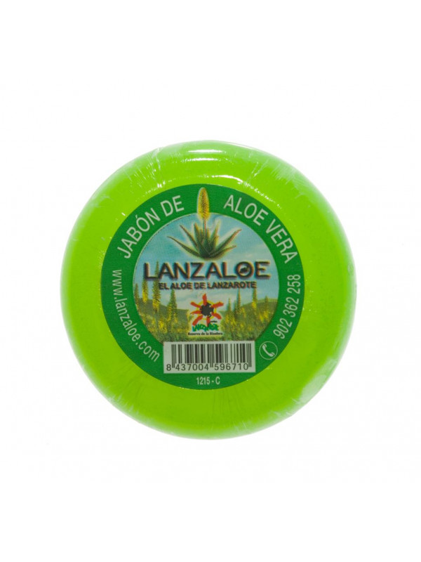 Lanzaloe Aloe Vera soap 100gr x 4