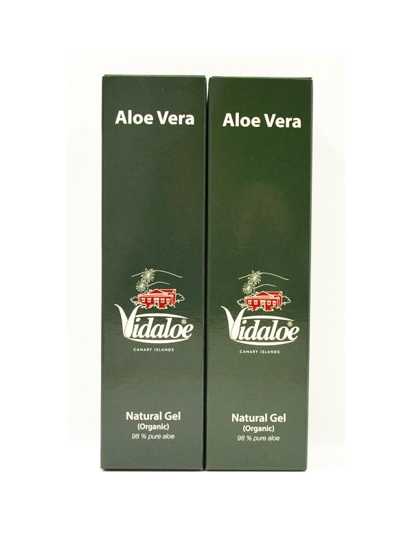 Vidaloe pure Aloe Vera gel 250ml x 2