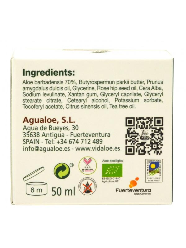 Vidaloe Regenerating hydrating cream with Aloe Vera 50ml