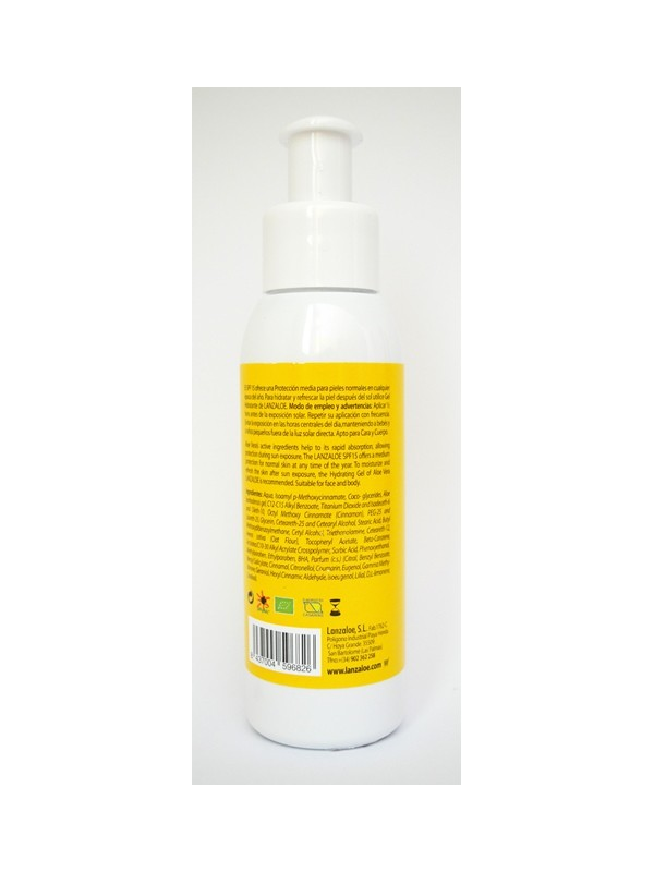 Lanzaloe Sunscreen FPS 15 / 30 100ml