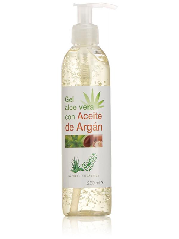 Cosmonatura 100% Aloe Vera Gel + Argan Oil 250 ml