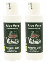 Vidaloe Natural Gel (organic) 100ml x 2