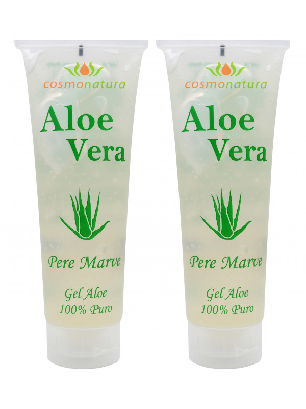 Cosmonatura 100% Aloe Vera Gel 250 ml x 2 units