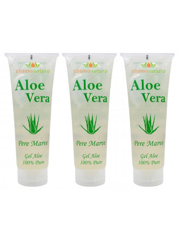 Cosmonatura 100% Aloe Vera Gel 250 ml x 3 units