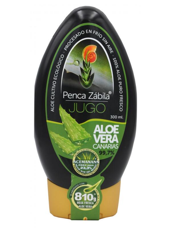 Penca Zábila pure juice Aloe Vera 300ml - 99,7%