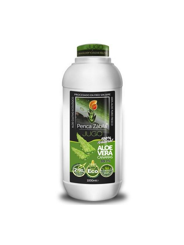 Penca Zábila pure juice Aloe Vera 1000ml - 99,7%