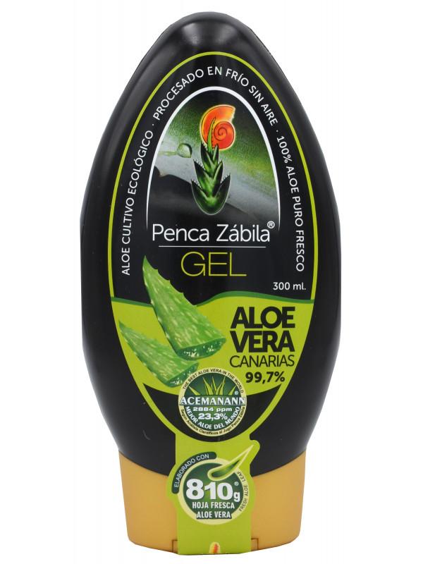 Penca Zábila pure Gel Aloe Vera 300ml - 99,7%